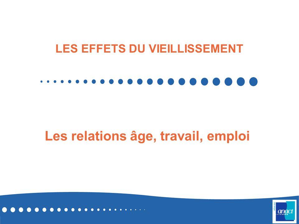 Les relations âge, travail, emploi