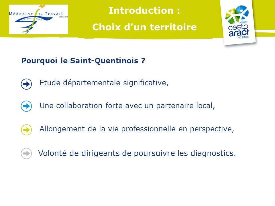 Introduction : Choix d'un territoire