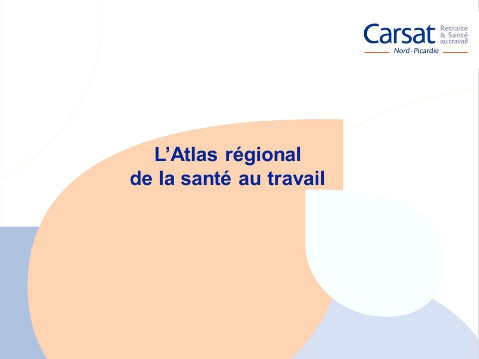 L'Atlas régional de la santé au travail