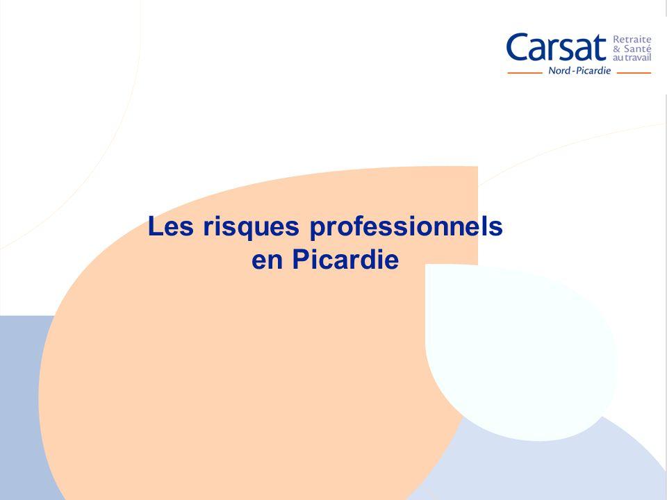 Les risques professionnels en Picardie