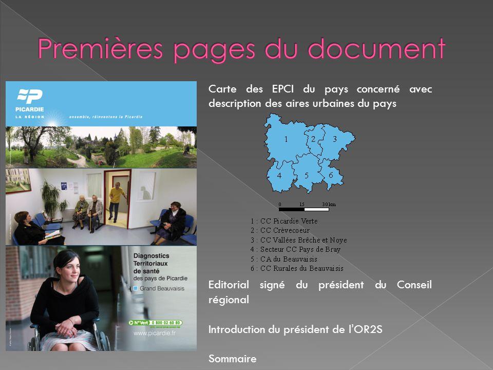 Premières pages du document