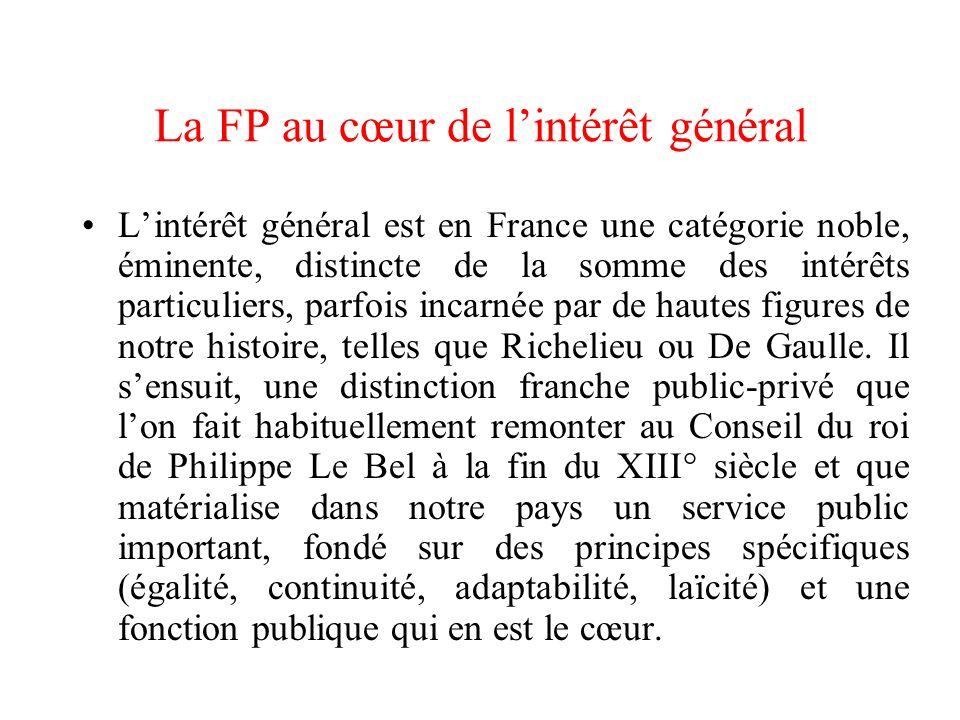 La FP au cœur de l'intérêt général