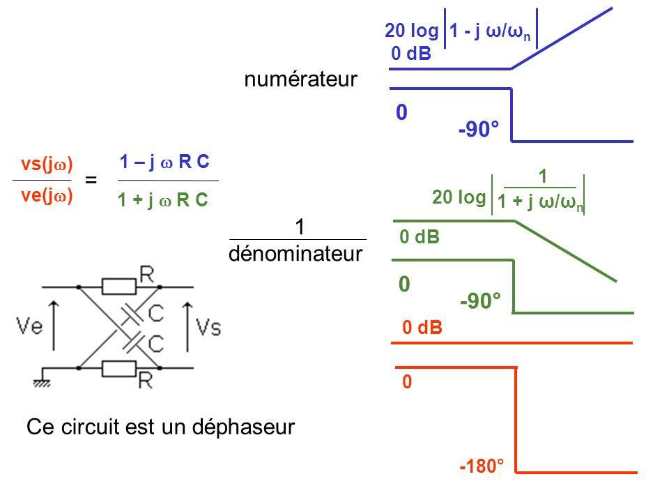 Ce circuit est un déphaseur