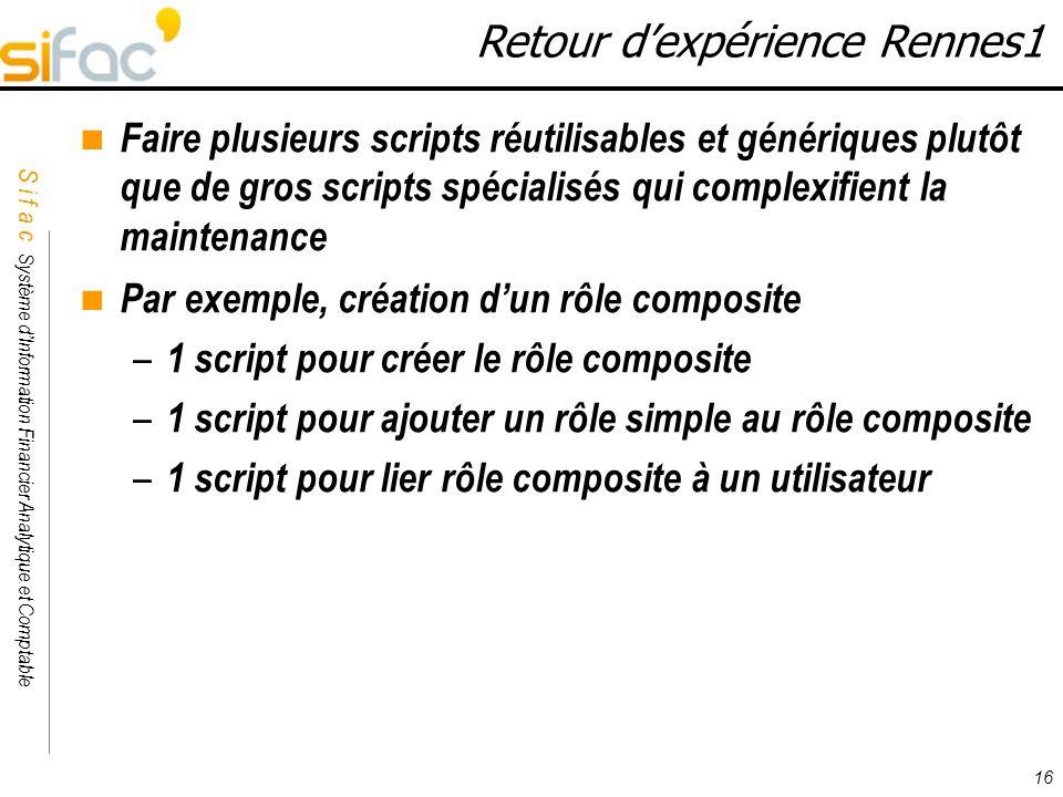 Retour d'expérience Rennes1