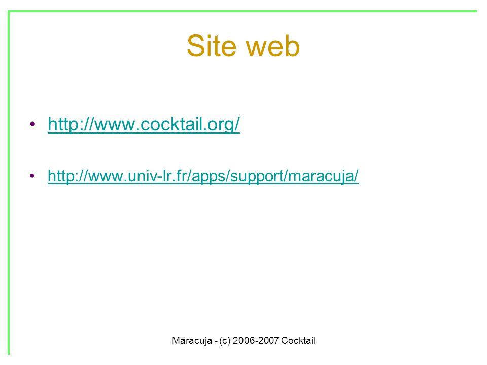 Maracuja - (c) 2006-2007 Cocktail