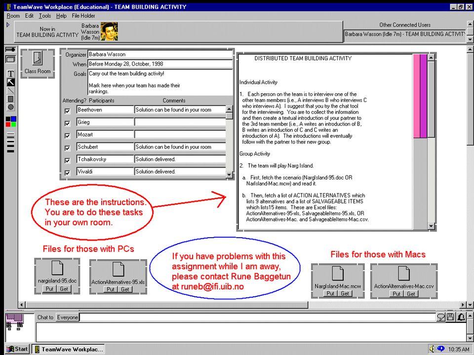 Les outils du travail coopératif - Groupware, Workflow et services Web - ECOO - godart@loria.fr