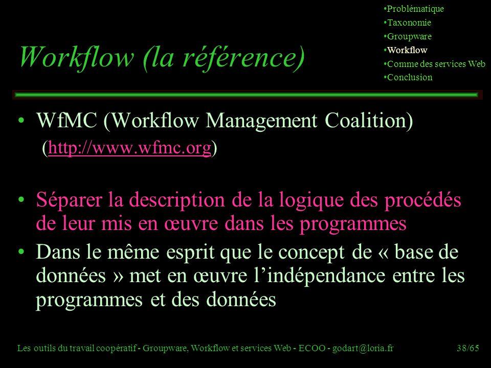 Workflow (la référence)