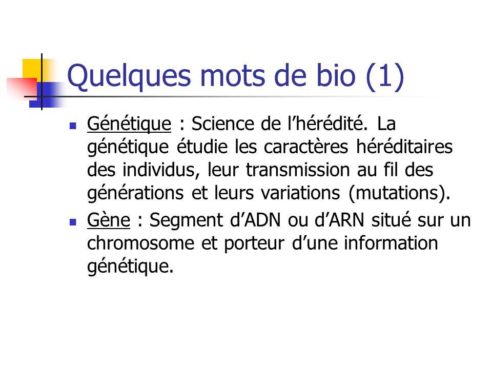 Quelques mots de bio (1)