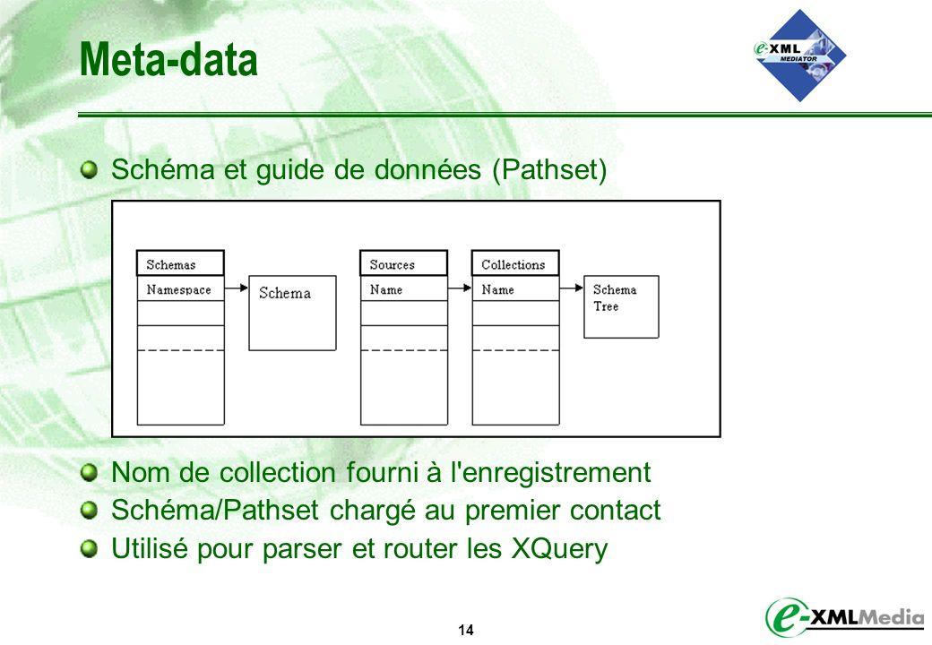 Meta-data Schéma et guide de données (Pathset)