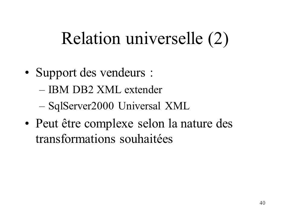 Relation universelle (2)
