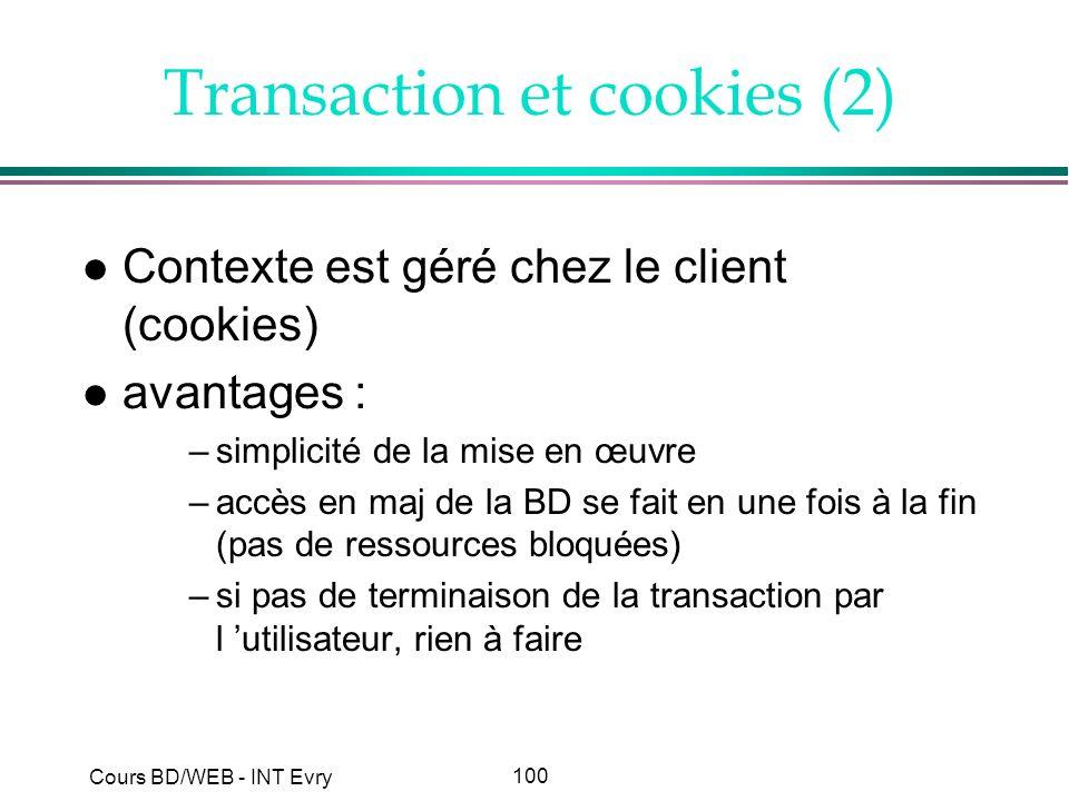 Transaction et cookies (2)