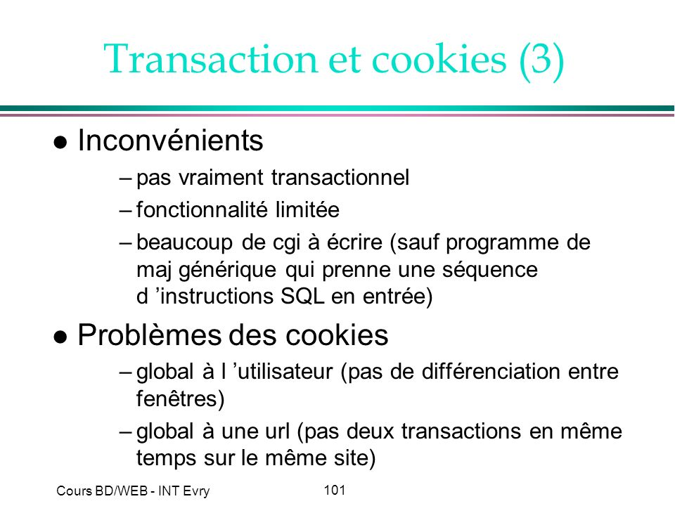 Transaction et cookies (3)