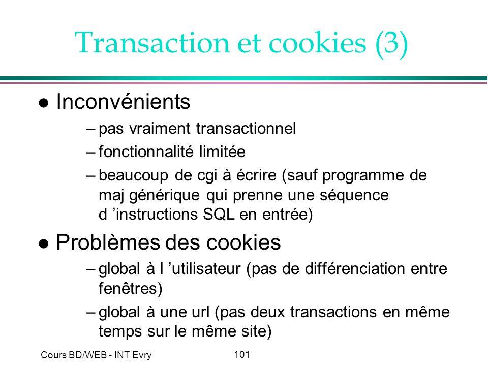 Transaction et cookies (3)