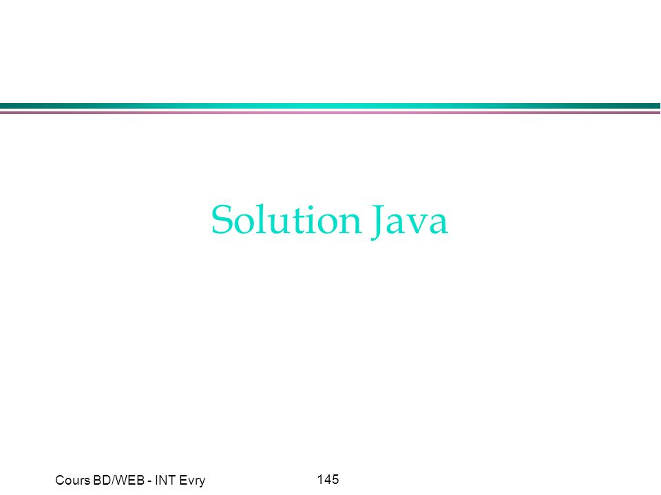 Solution Java