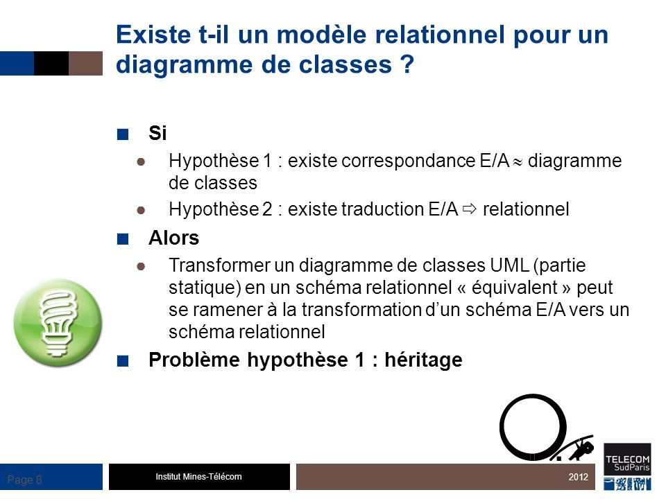Existe t-il un modèle relationnel pour un diagramme de classes