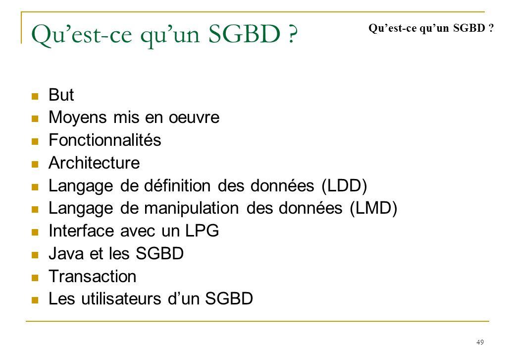Modèle relationnel (2) « MLD » Ecole