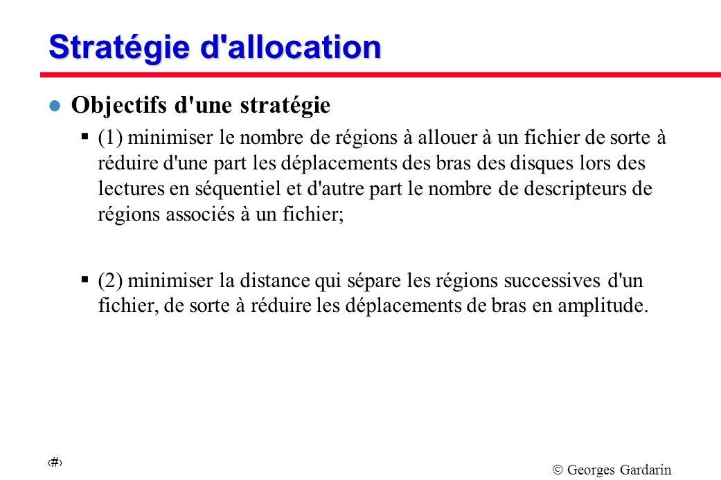 Stratégie d allocation