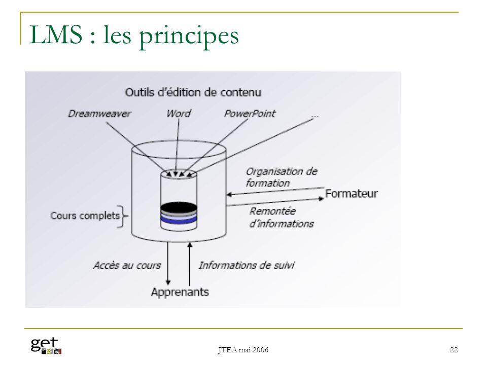 LMS : les principes JTEA mai 2006