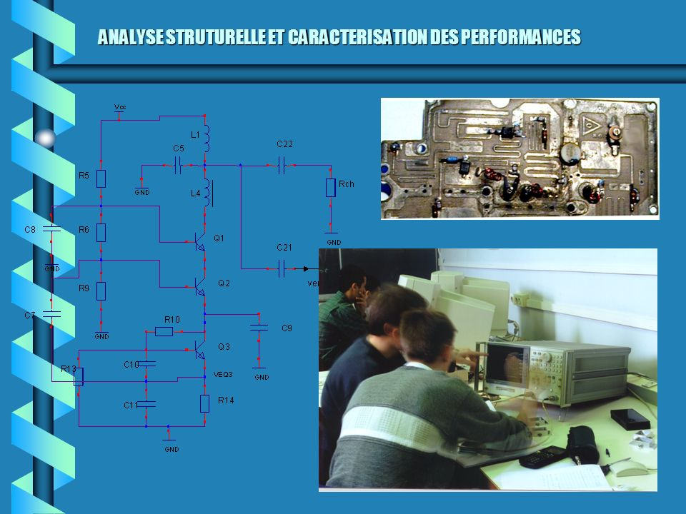 ANALYSE STRUTURELLE ET CARACTERISATION DES PERFORMANCES