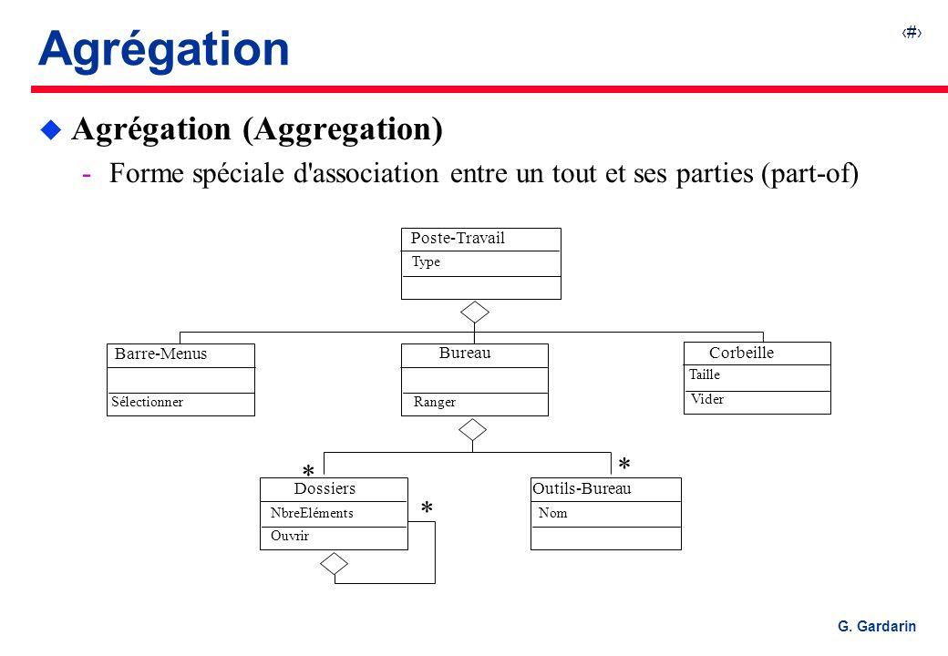 Agrégation Agrégation (Aggregation)