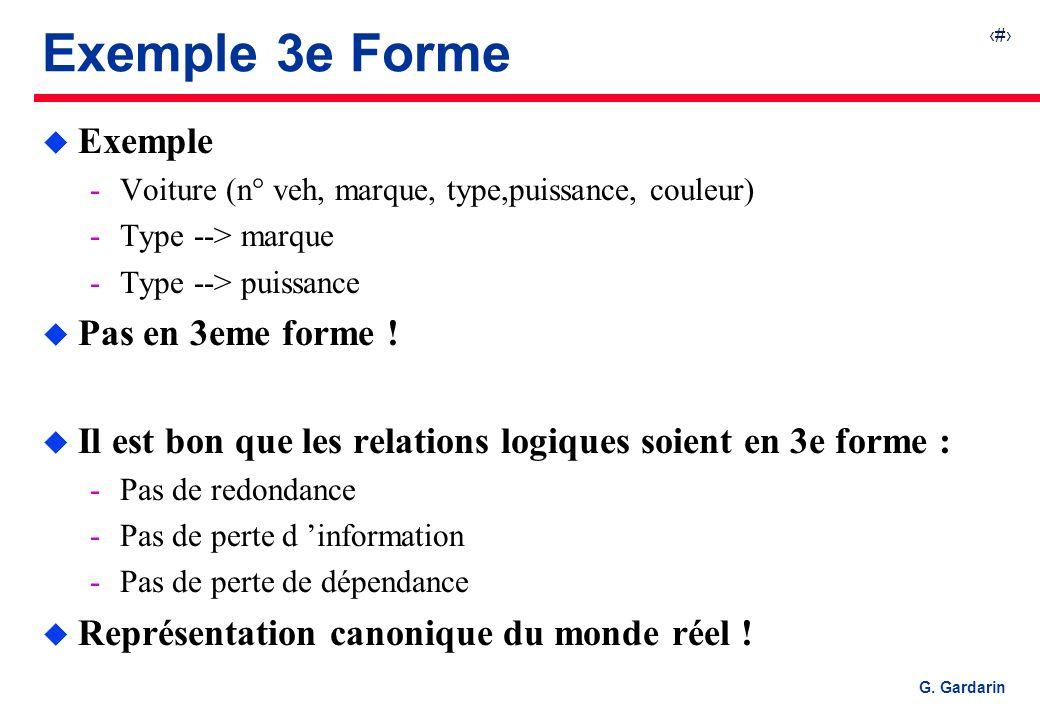 Exemple 3e Forme Exemple Pas en 3eme forme !