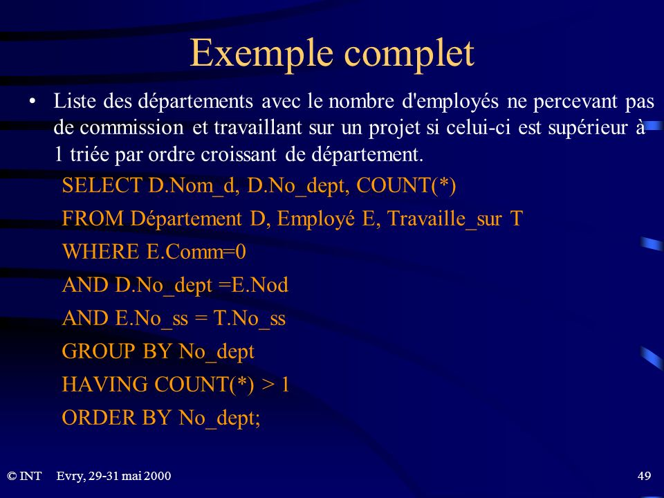 Exemple complet