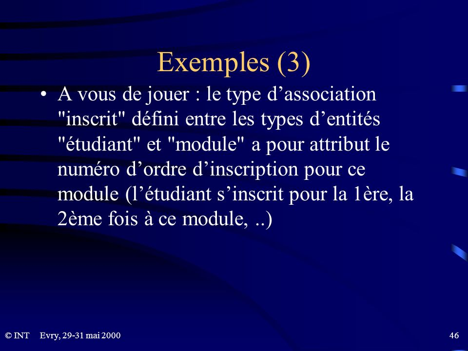 Exemples (3)