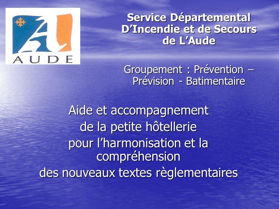 Service Départemental D'Incendie et de Secours de L'Aude