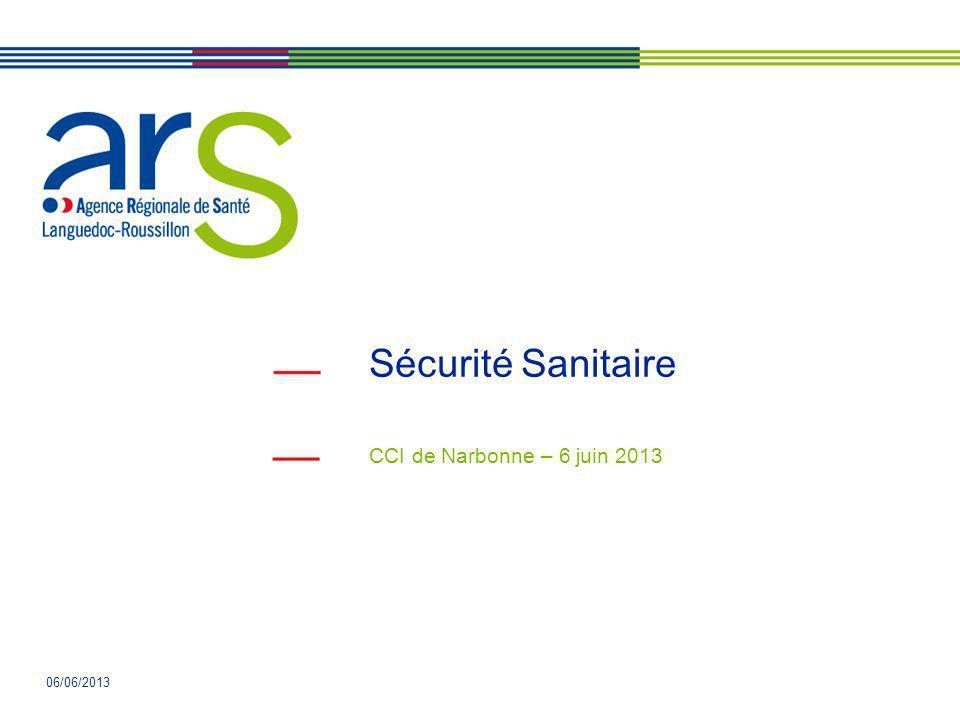Sécurité Sanitaire CCI de Narbonne – 6 juin 2013