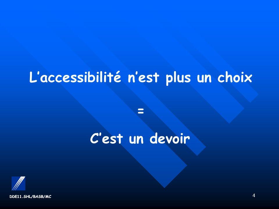 L'accessibilité n'est plus un choix = C'est un devoir