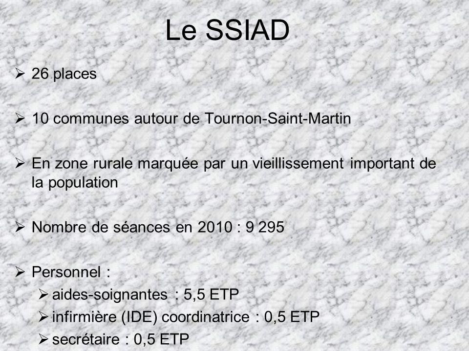 Le SSIAD 26 places 10 communes autour de Tournon-Saint-Martin