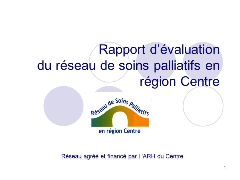 Rapport d'évaluation du réseau de soins palliatifs en région Centre