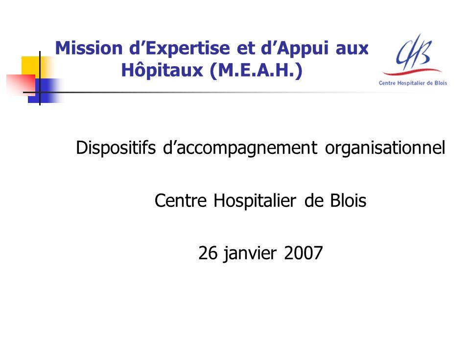 Mission d'Expertise et d'Appui aux Hôpitaux (M.E.A.H.)
