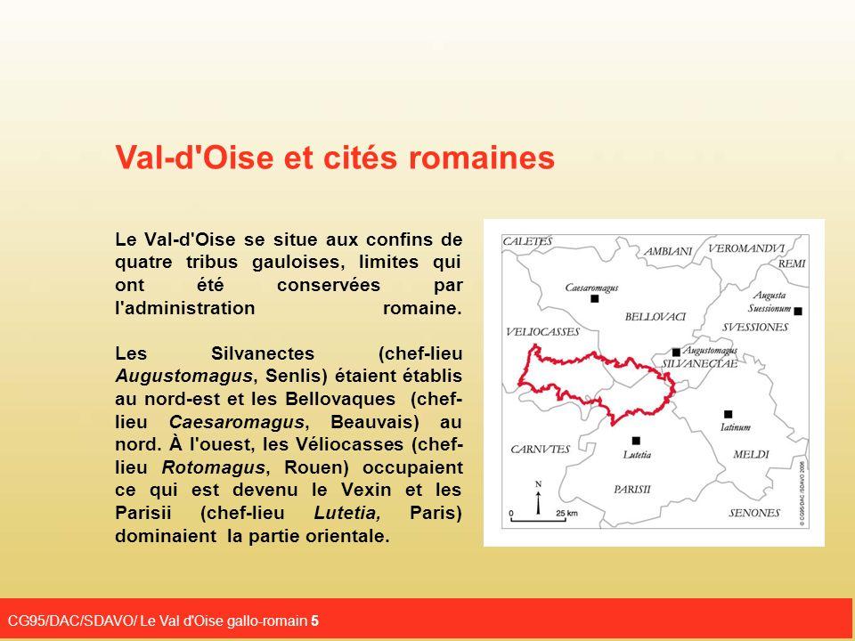 Val-d Oise et cités romaines