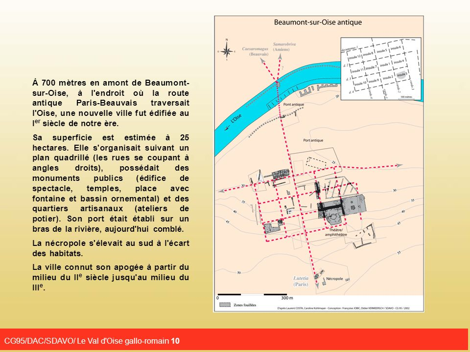 CG95/DAC/SDAVO/ Le Val d Oise gallo-romain 10