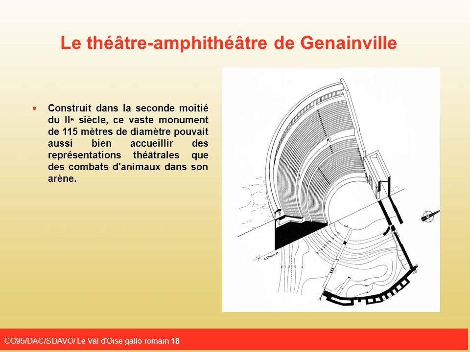 Le théâtre-amphithéâtre de Genainville
