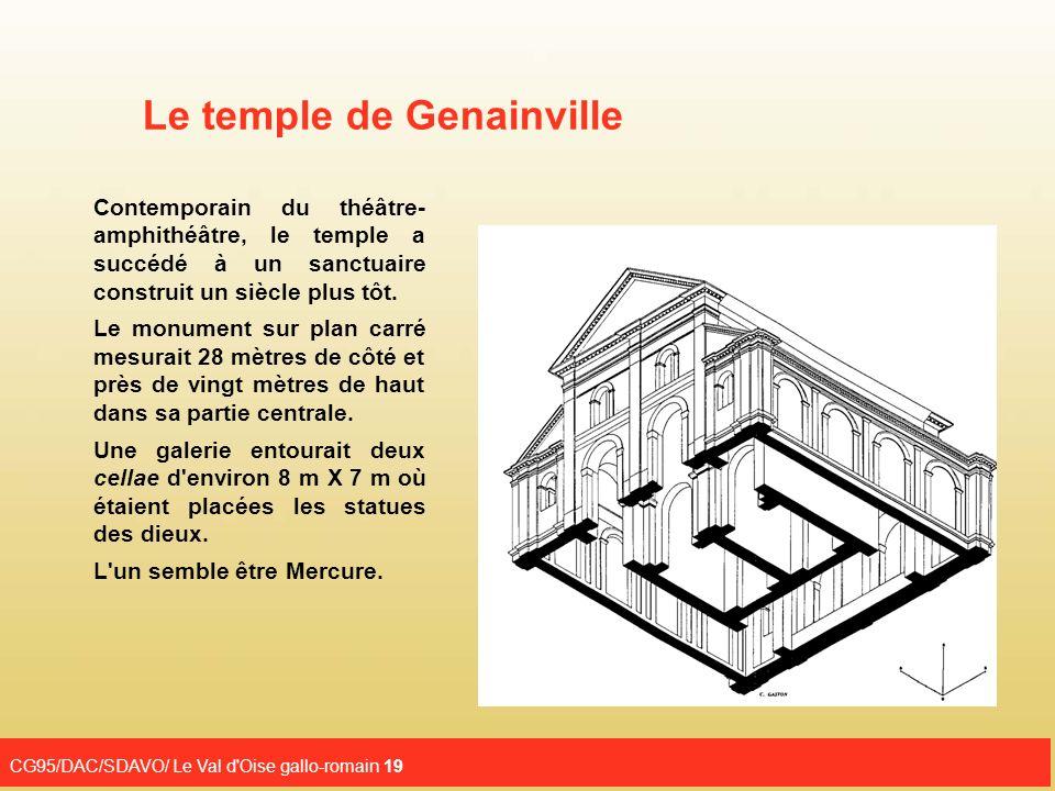 Le temple de Genainville