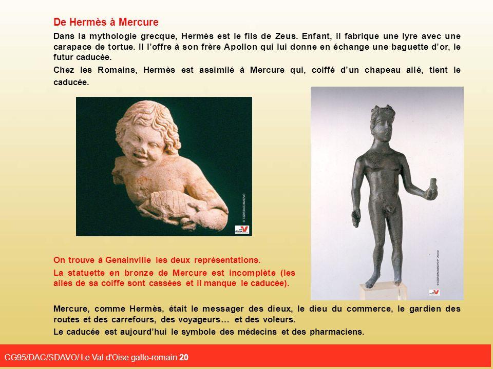 De Hermès à Mercure CG95/DAC/SDAVO/ Le Val d Oise gallo-romain 20