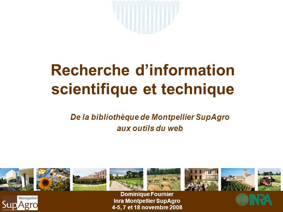 Recherche d'information scientifique et technique