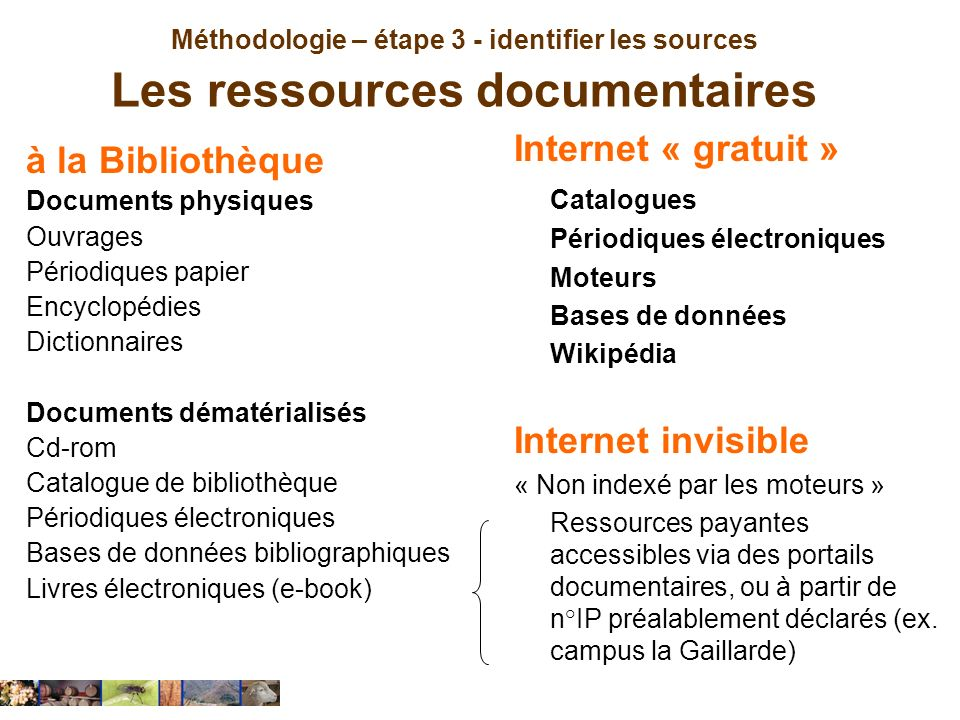 Internet « gratuit » à la Bibliothèque Internet invisible Catalogues