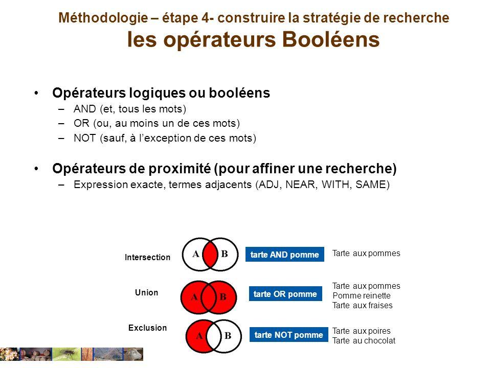 Opérateurs logiques ou booléens