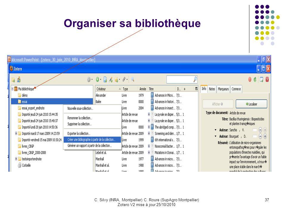 Organiser sa bibliothèque