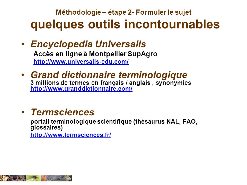 Encyclopedia Universalis Grand dictionnaire terminologique
