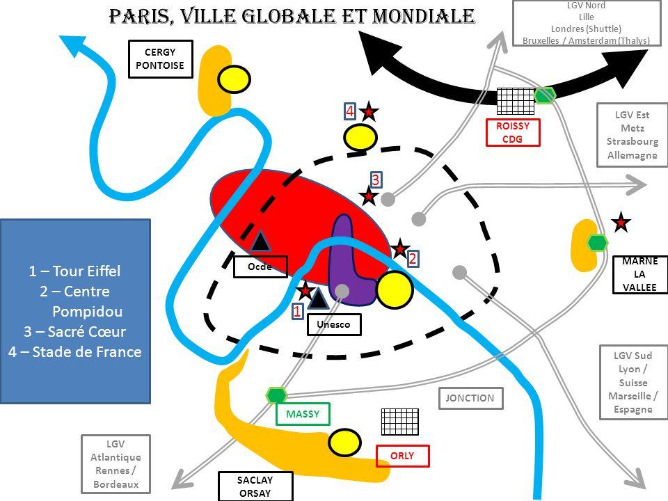 PARIS, VILLE GLOBALE ET MONDIALE