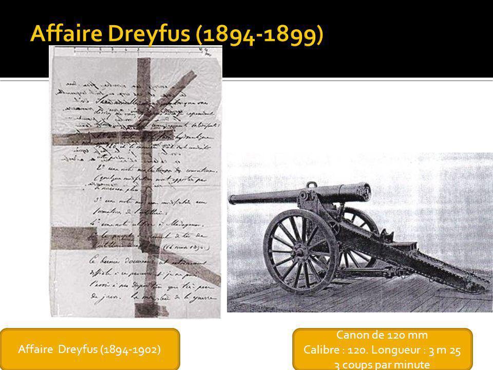 Affaire Dreyfus (1894-1899) Affaire Dreyfus (1894-1902)