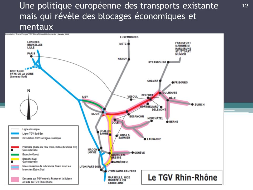 Une politique européenne des transports existante mais qui révèle des blocages économiques et mentaux