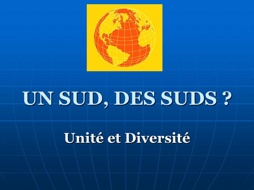 UN SUD, DES SUDS Unité et Diversité