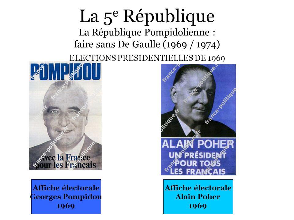 ELECTIONS PRESIDENTIELLES DE 1969