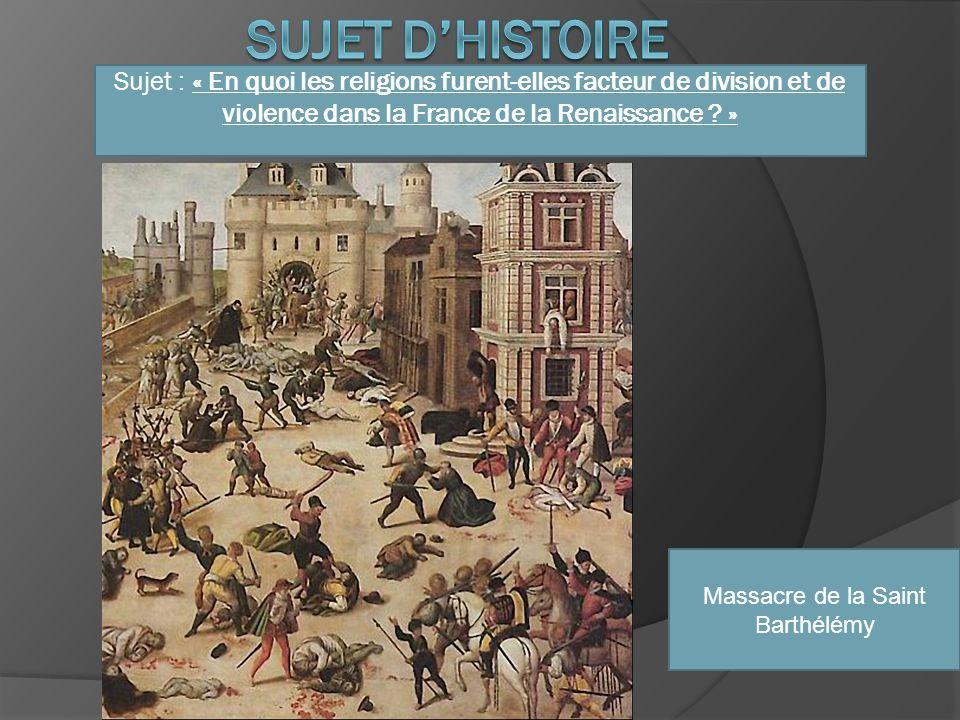 Massacre de la Saint Barthélémy