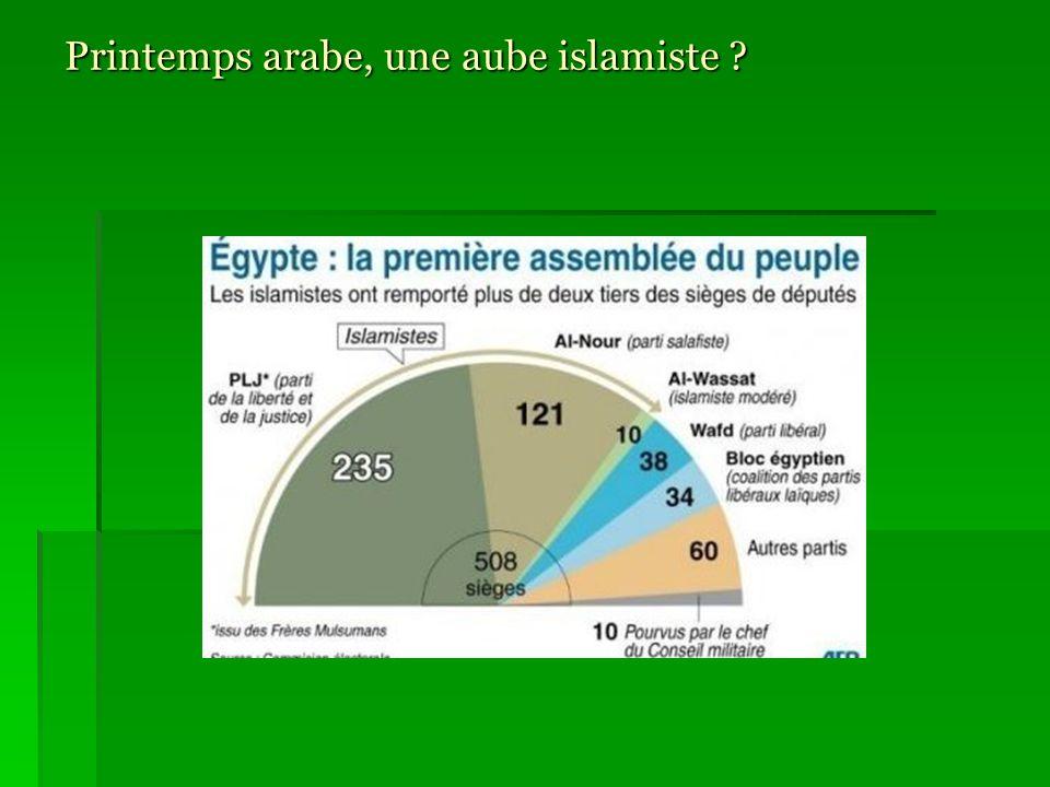 Printemps arabe, une aube islamiste